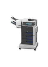 HP Color LaserJet CM4540fskm Heftmailbox mit 3 Fächern Multifunktionsgerät