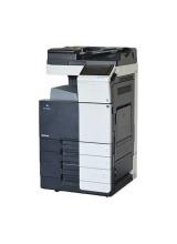 Konica Minolta bizhub 554e Kopierer mit Faxkarte mit PC-210