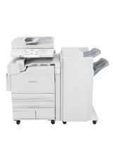 Gebrauchter X945e mit Finisher Lexmark Kopierer