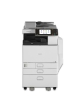 MP C3502 mit Fax Ricoh Aficio Kopierer