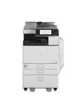 MP C5502 mit Fax Ricoh Aficio Kopierer