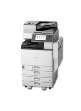 MP C5502 mit Fax u. 4. Papierfächer Ricoh Aficio Kopierer