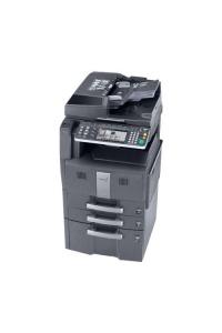 Gebrauchter Kopierer Kyocera TASKalfa 300ci mit Unterschrank und 2 Papierfäche